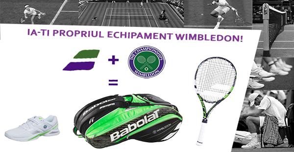 Echipament Babolat Wimbledon