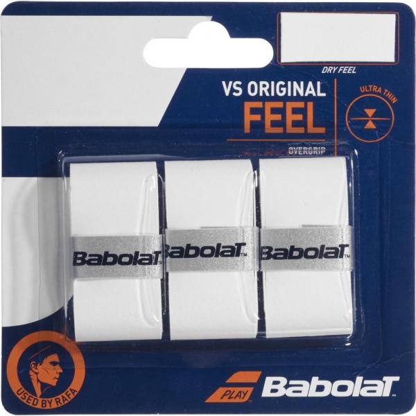 OVERGRIP BABOLAT VS ORIGINAL X3 WHITE
