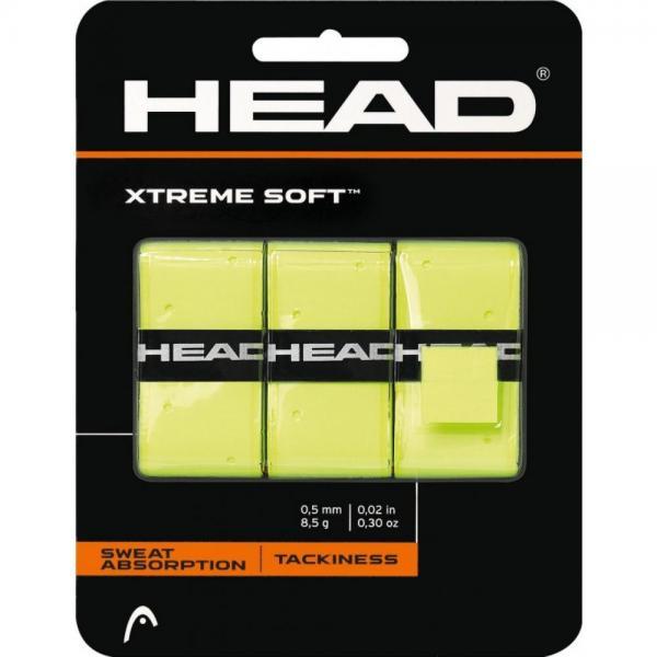 Overgrip HEAD EXTREMESOFT 3/SET Green