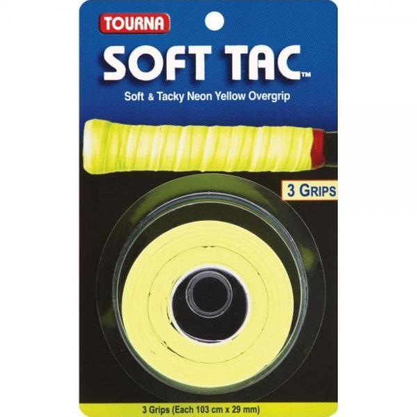 Overgrip TOURNA SOFT TAC Neon Yellow