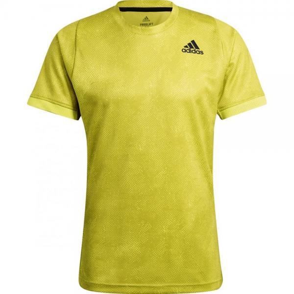Tricou Adidas FREELIFT PRINTED Yellow
