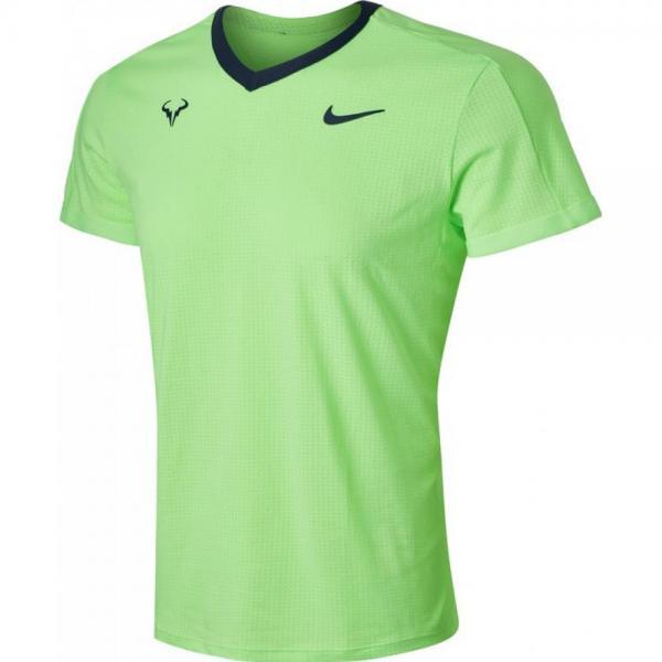 Tricou Nike RAFA DRI-FIT ADV LIME GLOW